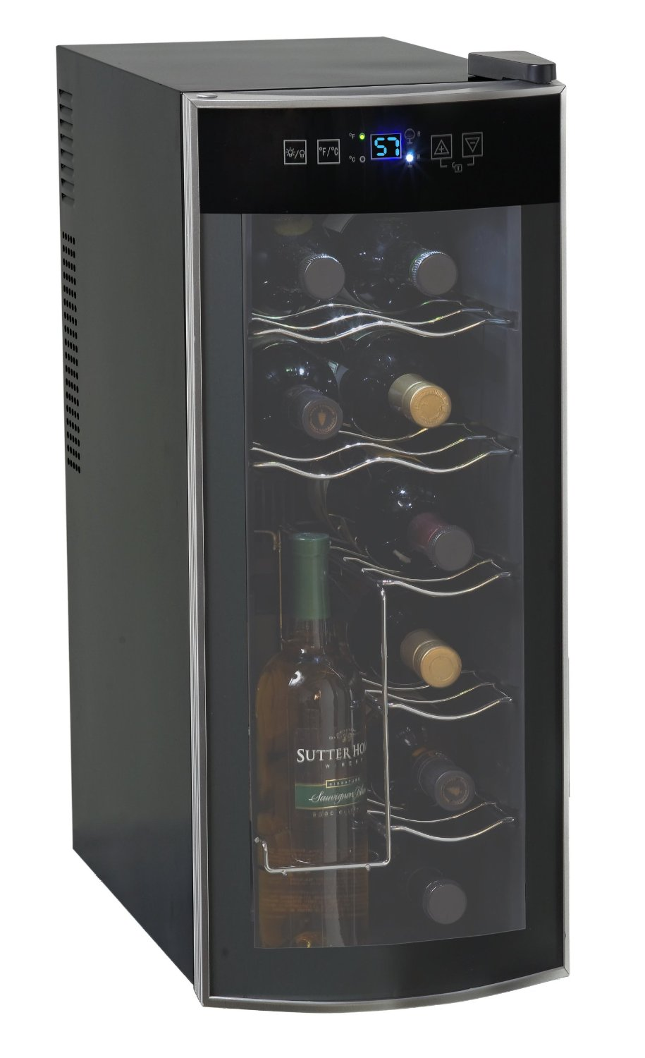 avanti 12 bottle wine cooler ewc1201 review