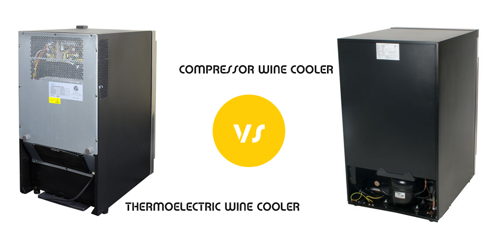 Wine Refrigerator Reviews >> Thermoelectric vs Compressor Wine Cooler